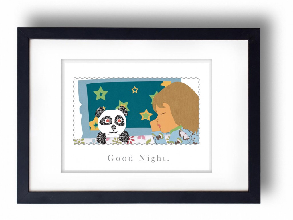 good night framed