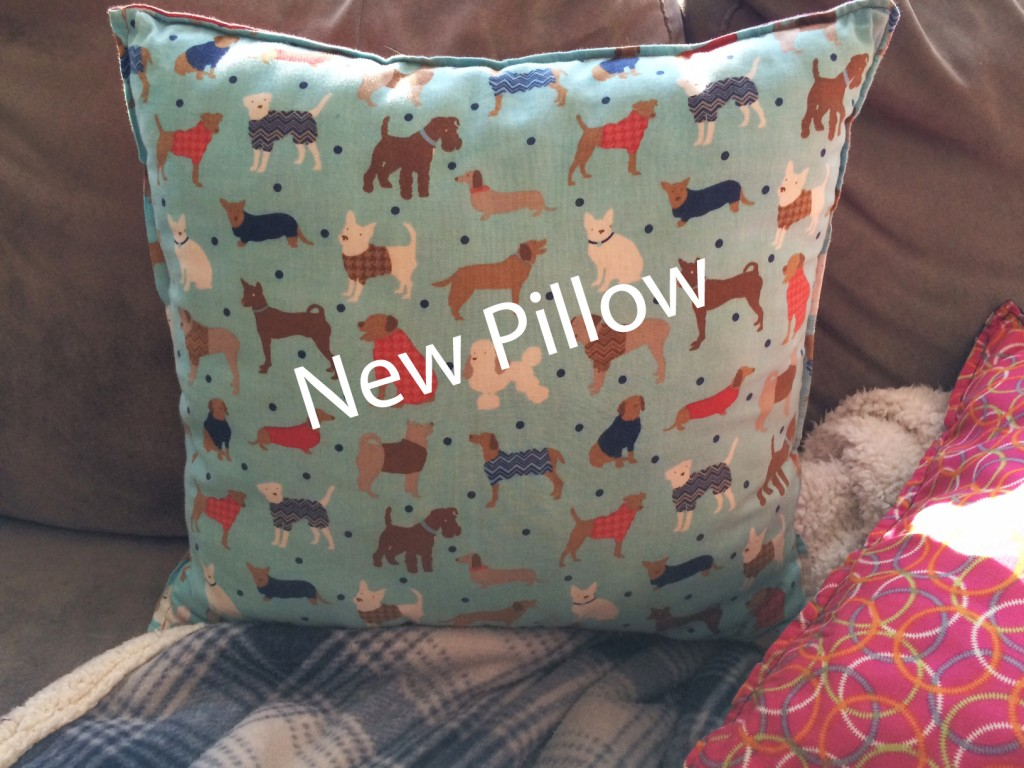 new pillow