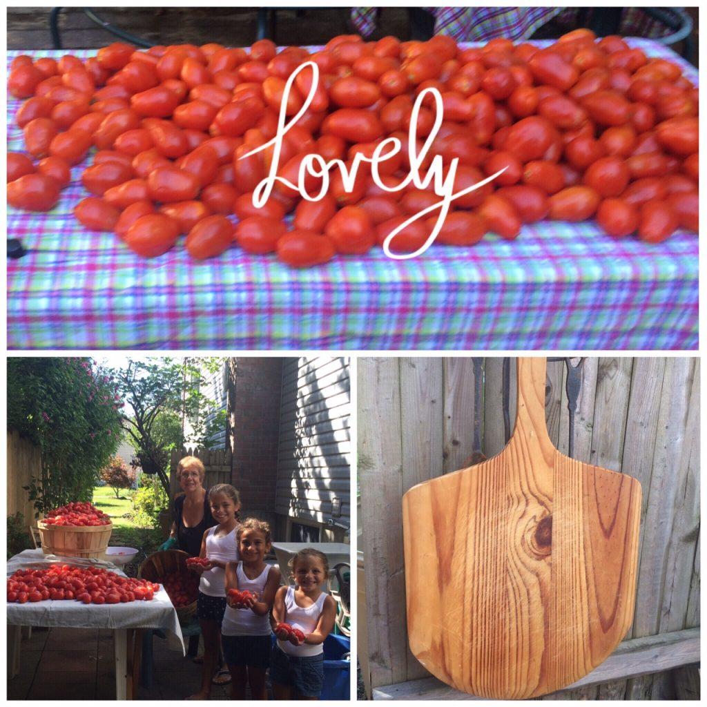 fresh tomato's