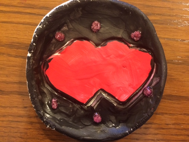 Double Heart Plate