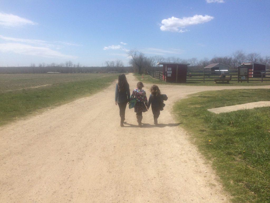Sister walk
